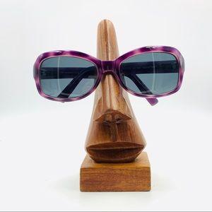 Kenneth Cole KC2228 Purple Oval Sunglasses Frames